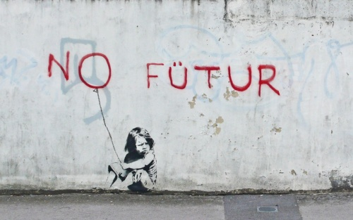 banksy-no-future